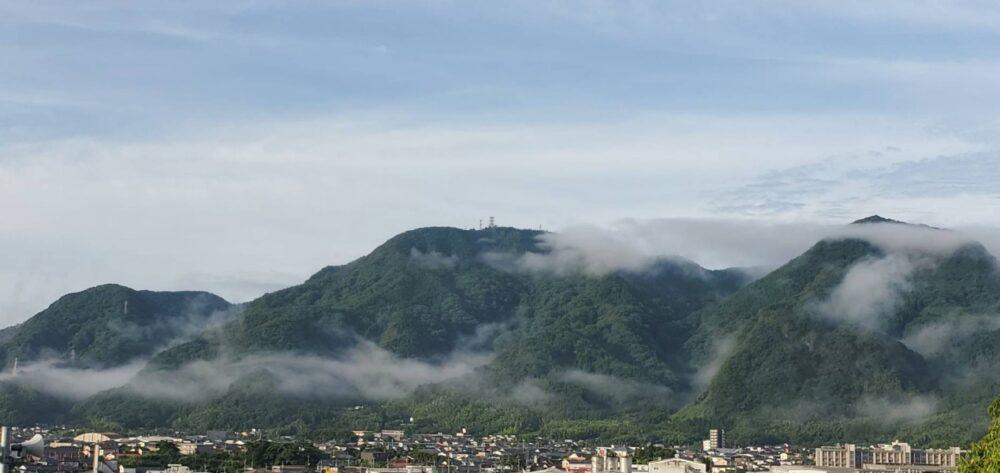 白金坂がある山の写真